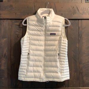 Patagonia Medium Women's Cream Down Vest